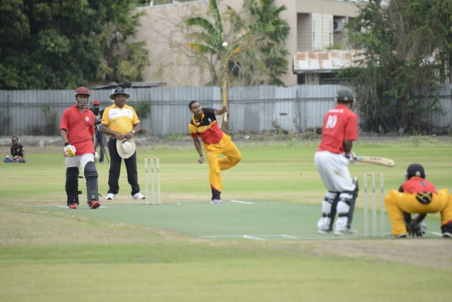 PNG beat Tonga before losing to Vanuatu on Wednesday. Photo by Roan Paul.