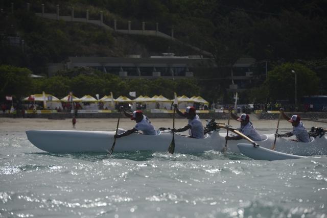 It's o-va'a: The final vs'a races took place on Saturday, with Tahiti continuing its dominance. Photo by Olga Fontanellaz.