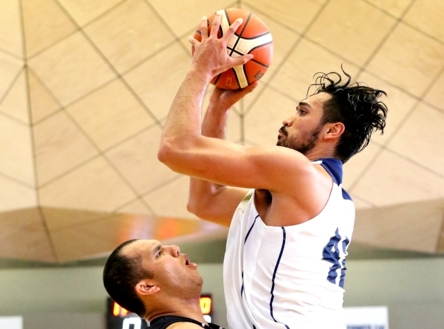 Tai Wesley was the key to Guam's win in the men's gold medal game. Photo by Susie Pini.